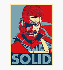 "Metal Gear ""Hope"" Poster Photographic Print"