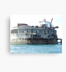 Spitbank Fort Canvas Print