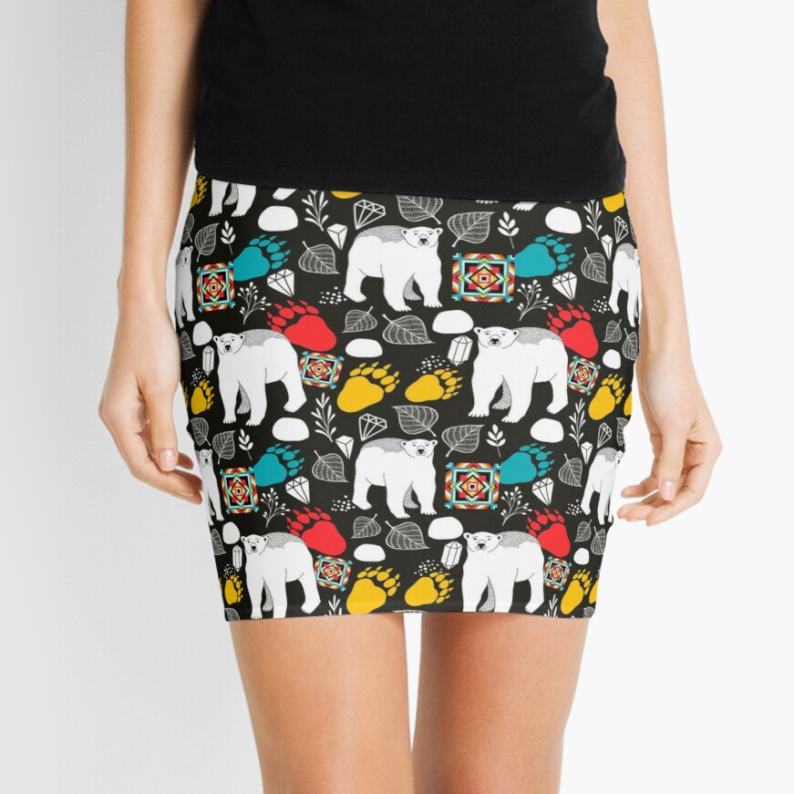 Polar bear Mini Skirt