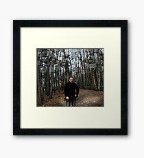 Belgium Forest Framed Print