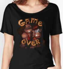 Donkey Kong Game Over Women's Relaxed Fit T-Shirt