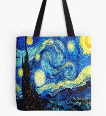 Starry Night - Vincent Van Gogh Tote Bag