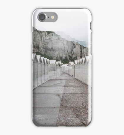N°158: Double-exposure at the beach 2 iPhone Case/Skin