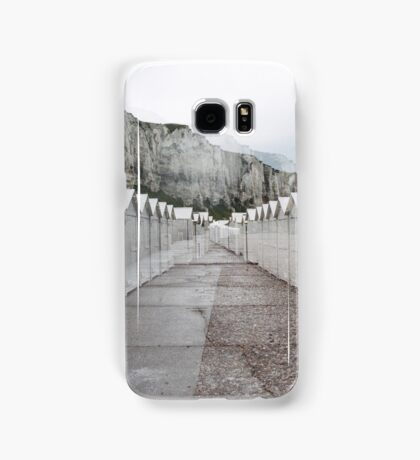 N°158: Double-exposure at the beach 2 Samsung Galaxy Case/Skin