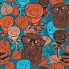 Autumn owls by Ekaterina Panova
