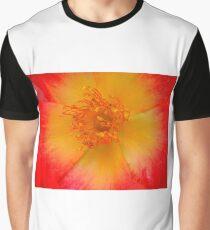 Macro flower Graphic T-Shirt
