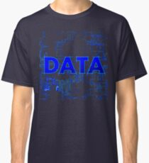 Data internet network binary one null crash administrator Classic T-Shirt