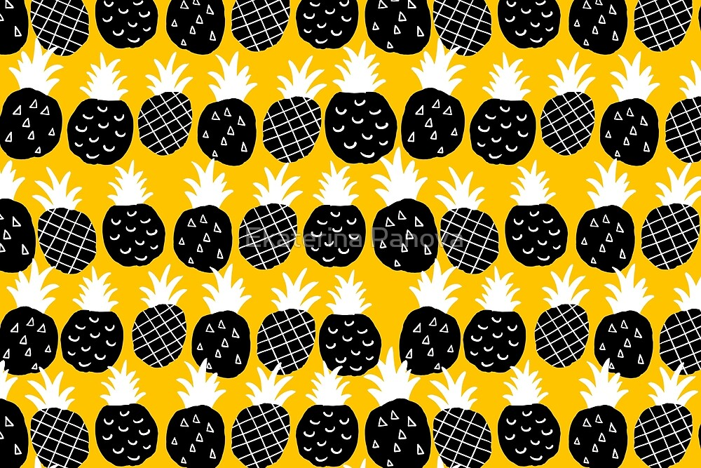 Black pineapple by Ekaterina Panova