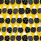 Black pineapple by Ekaterina Panova
