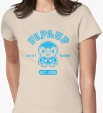 Piplup - College Style Women's Fitted T-Shirt