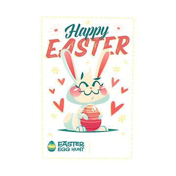 happy easter poster by Nayla475