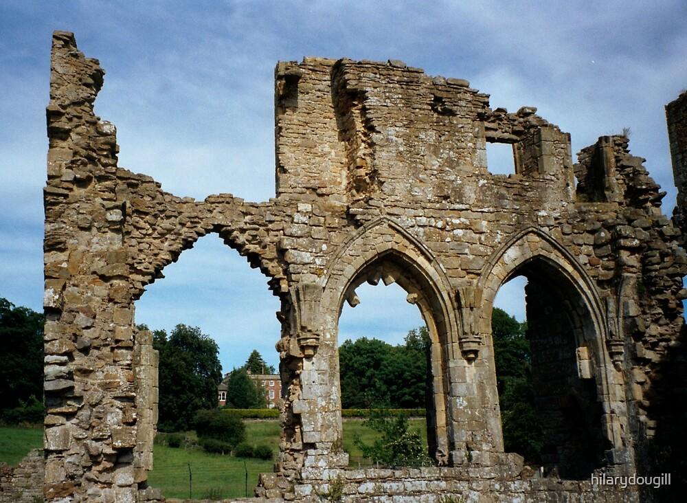Easby Abbey by hilarydougill