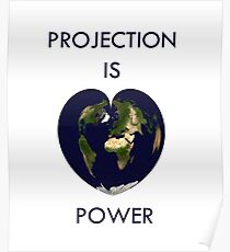 Projection is power Poster