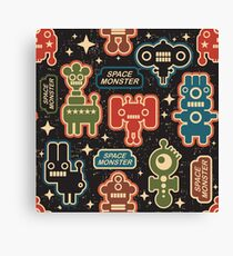 Space monster Canvas Print
