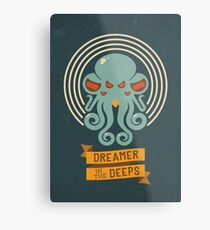 Cthulhu, Dreamer in the Deeps Metal Print