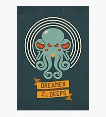 Cthulhu, Dreamer in the Deeps Photographic Print