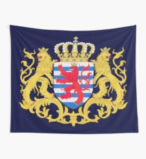 Luxembourg Coat of Arms Wall Tapestry