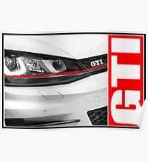 MK7 Golf GTI Poster