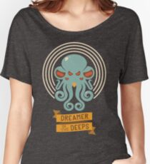 Cthulhu, Dreamer in the Deeps Women's Relaxed Fit T-Shirt