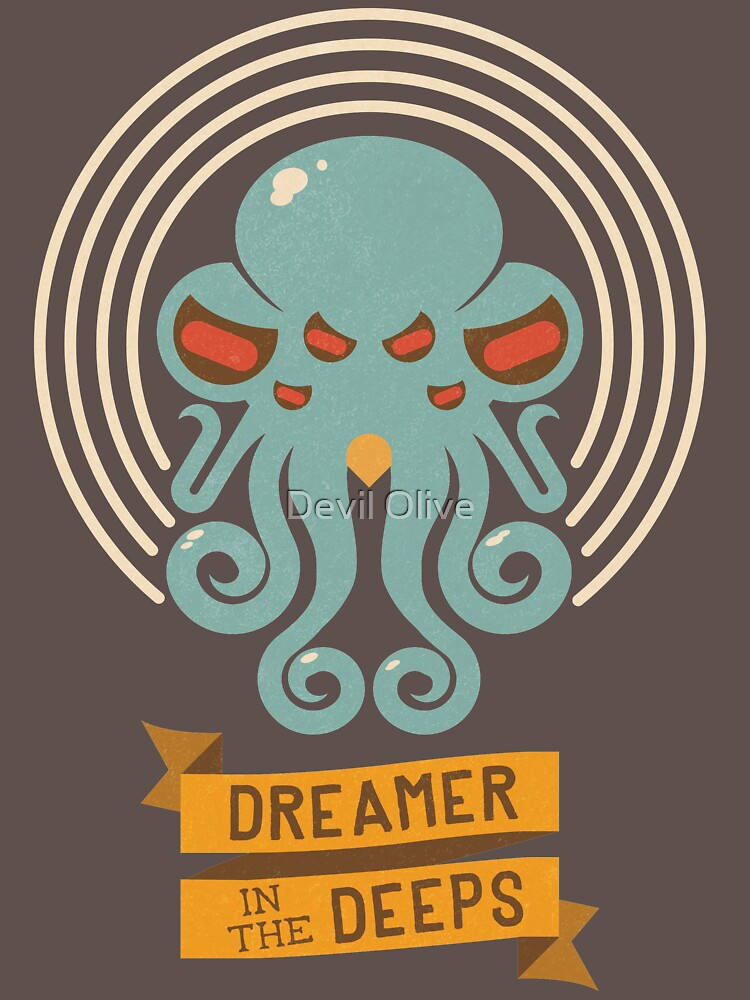 Cthulhu, Dreamer in the Deeps | Unisex T-Shirt