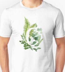 Floral letter C Unisex T-Shirt
