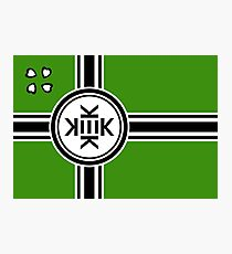 Official flag of Kekistan Photographic Print