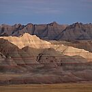 Badlands Light and Dark by Dawne Olson