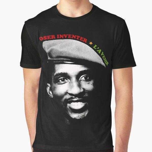 Thomas Sankara Graphic T-Shirt