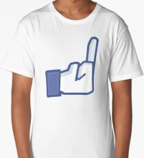 F*CK FACEBOOK Long T-Shirt