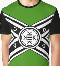 Kekistani Rebel Flag Graphic T-Shirt