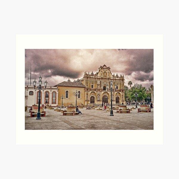 Guatemalan Church Art Print