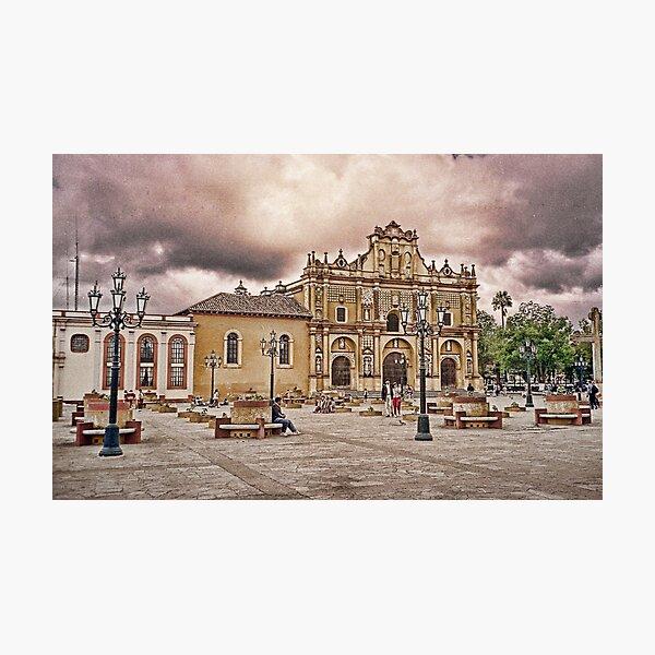 Guatemalan Church Photographic Print