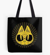 Golden Cat Tote Bag