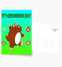 Groundhog day Postcards