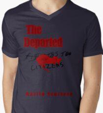The Departed Minimalist Design Men's V-Neck T-Shirt