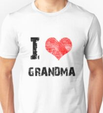 I love Grandma Unisex T-Shirt
