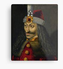 Vlad the Impaler Portrait Metal Print