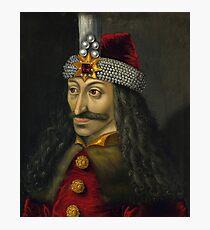 Vlad the Impaler Portrait Photographic Print