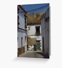 Rustic Charm, Carmona, Andalusia Greeting Card