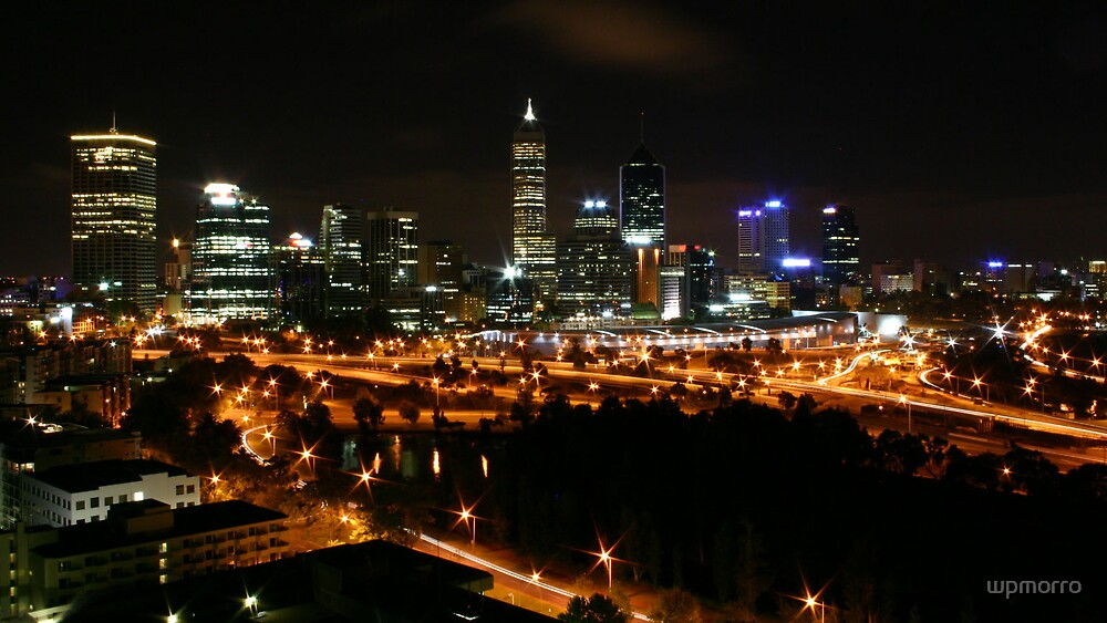 Kings Park lights up Perth by wpmorro