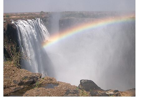 Victoria Falls by Charles  Griffiths