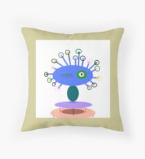 COLLECTABLE KIDS ART, POLLY DOLLOPS perriwinkle  Coussin