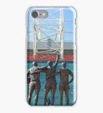 Manchester United, East Stand, Old Trafford Manchester iPhone Case/Skin