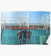 Manchester United, East Stand, Old Trafford Manchester Poster