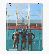 Manchester United, East Stand, Old Trafford Manchester iPad Case/Skin