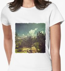 Italian Mountains Women's Fitted T-Shirt