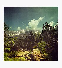 Italian Mountains Photographic Print