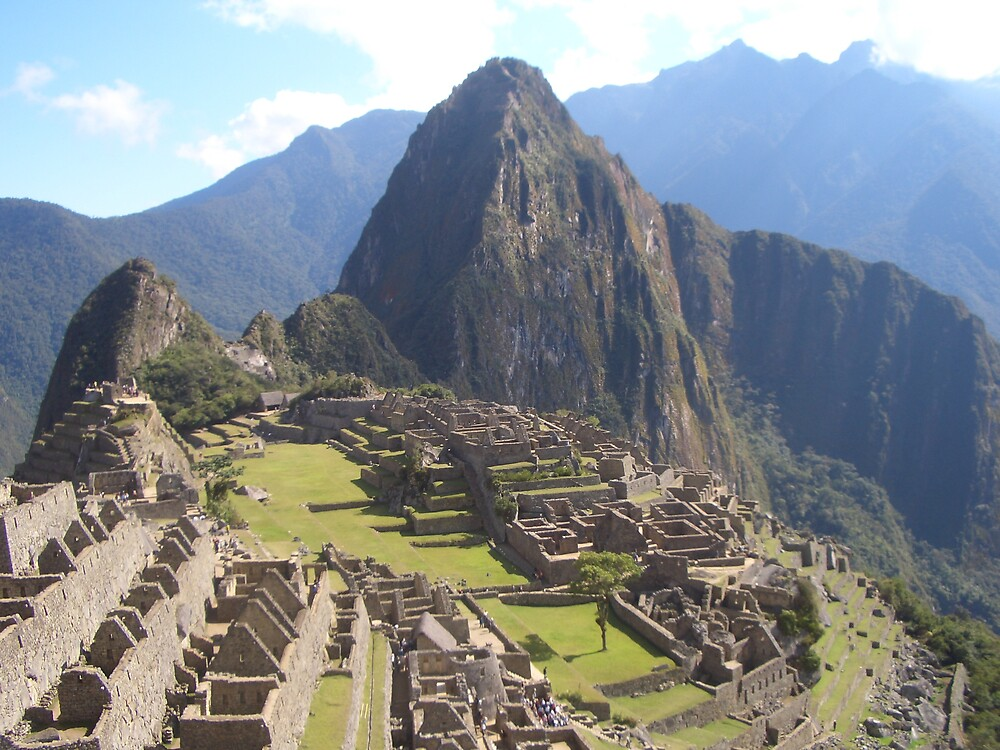 Machu Picchu by Charles  Griffiths