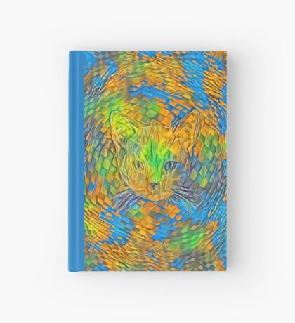 Cat. Every day is Earth Day. Hardcover Journal