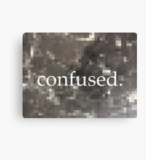 Edgy confused blur  Canvas Print